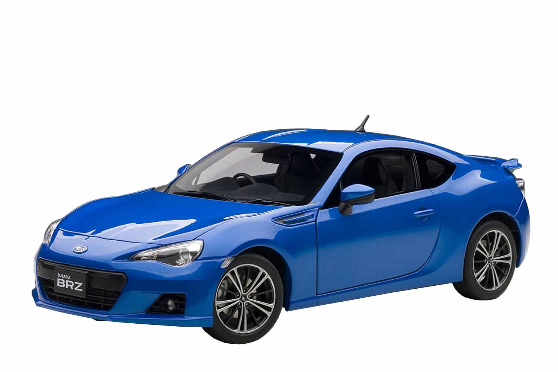 AUTOart 78691 Subaru br-z – 2012 – Echelle 1 18, Blau Metall