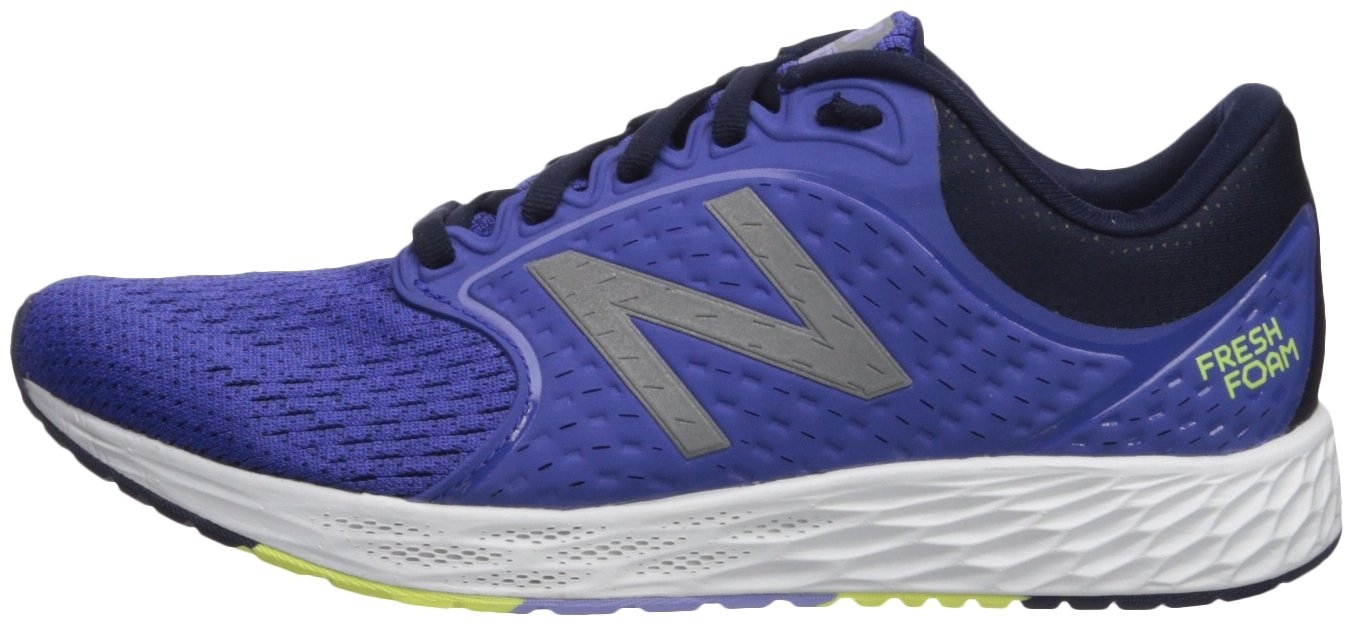 New Balance Women's Zante V4 Fresh Foam Running Shoe B06XRTS7VD 5 D US|Blue Iris/Pigment