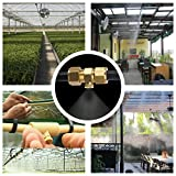 Aootech 32 Pack Brass Misting Nozzles for Outdoor