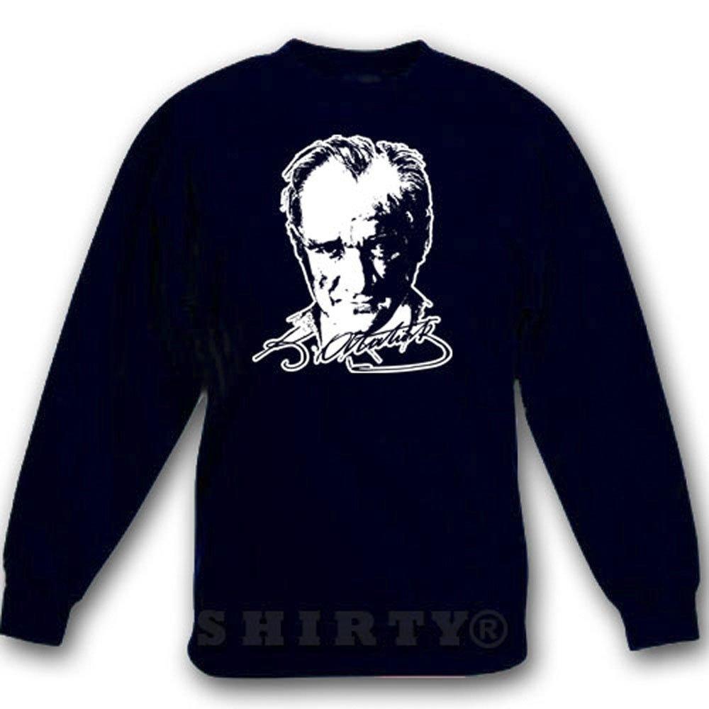 Atatürk 1 - Sweat - Shirt - schwarz - S bis 5XL - 1086