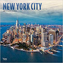 New York Calendar 2021 New York City 2021 12 x 12 Inch Monthly Square Wall Calendar with