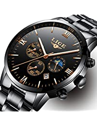 Mens Watches With Auto Date Chronograph Watch Men Sports...