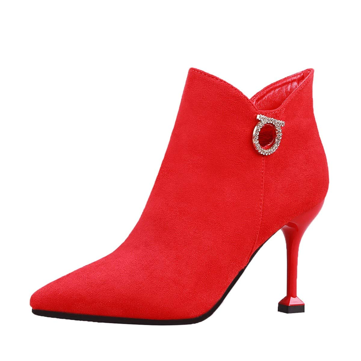 GTVERNH Schuhe Frauen Schuhe Winter - Hochzeit Schuhe GTVERNH Schuhe Mit Hohen Absätzen Rote Braut Schuhe Gut Betuchte 7Cm Chinesische Hochzeit. b2914b