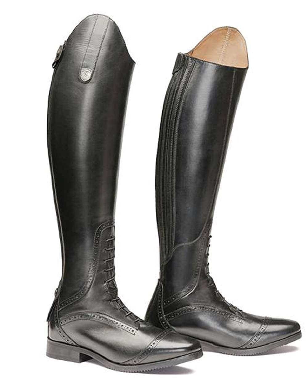 Mountain Horse Superior High Rider Damen Reitstiefel   schwarz   39   T50 N33-36