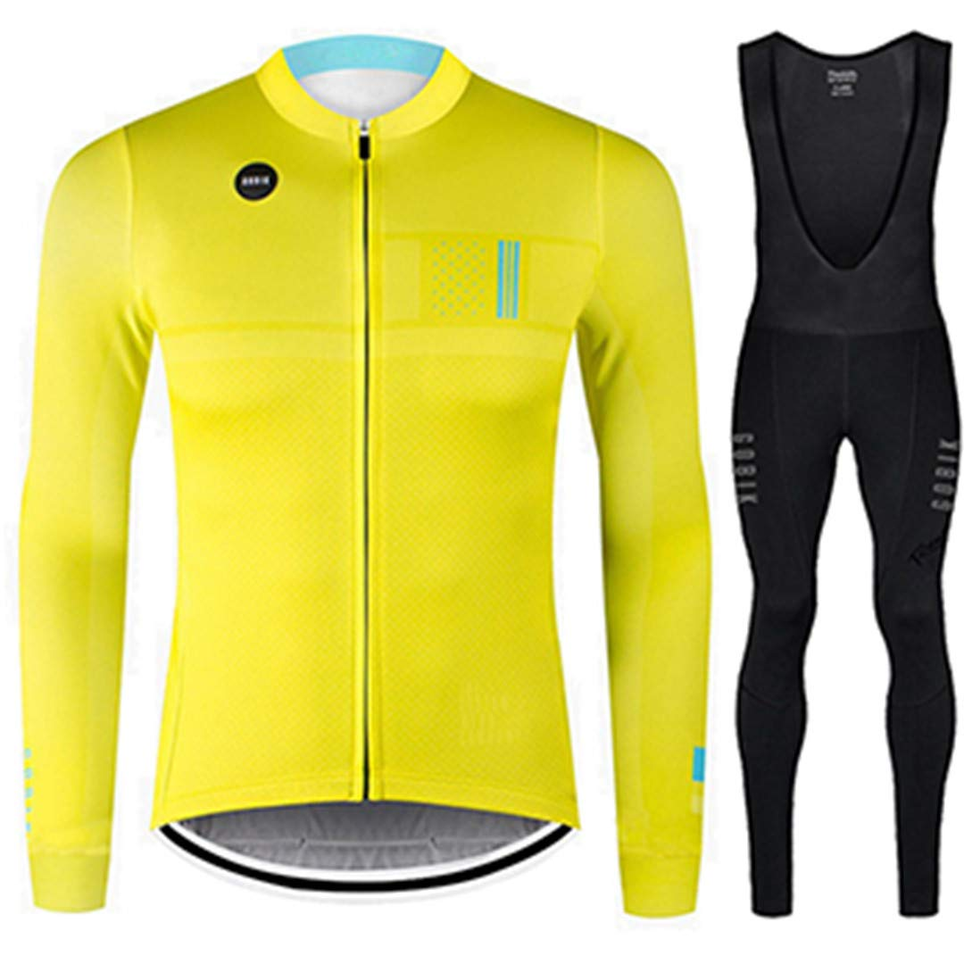 SET B M Winter Thermal Fleece Cycling Jersey Long Sleeve Sets