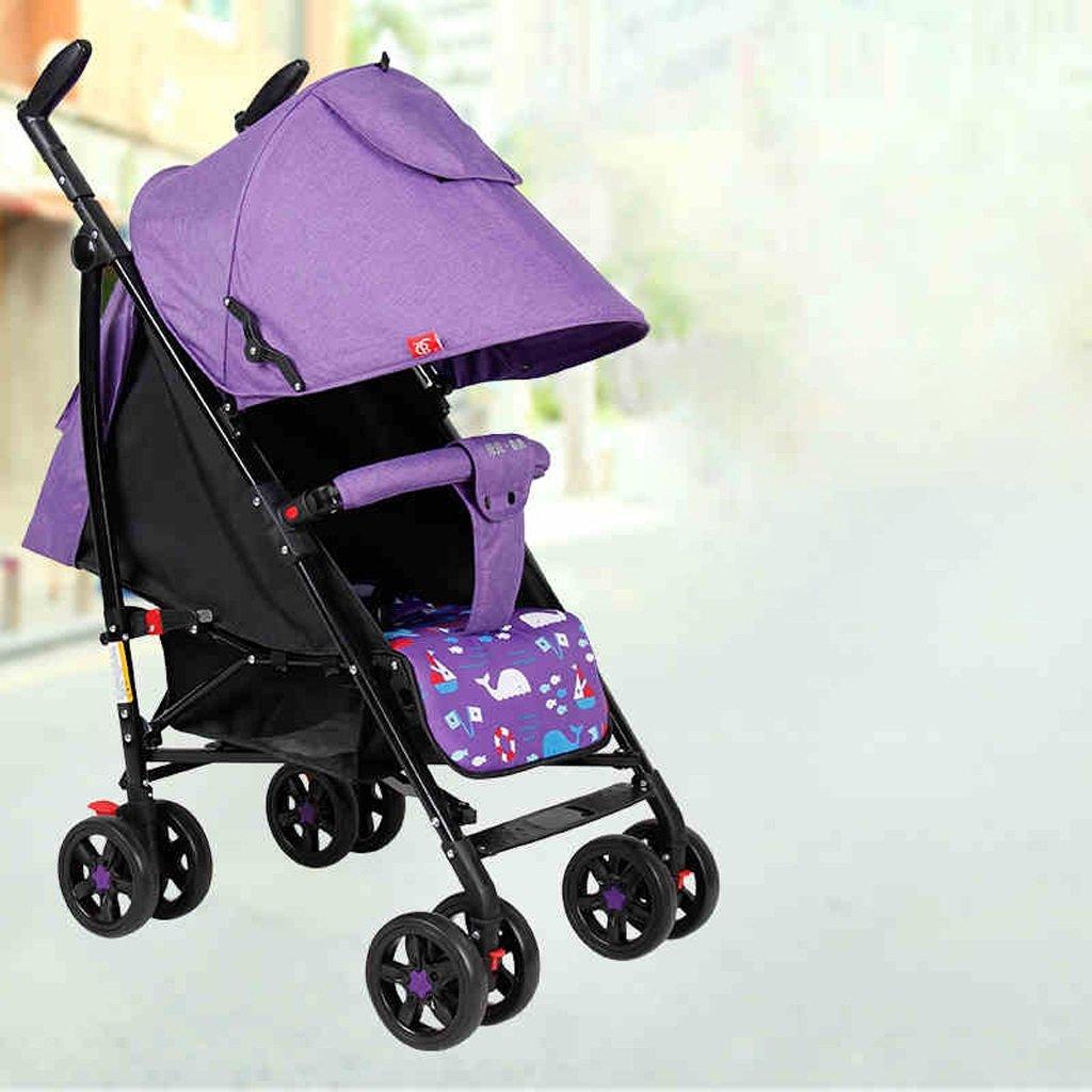 solo cómpralo Carretilla del coche Carretilla Carretilla Carretilla plegable del niño ligero Trolley (púrpura) 69  52  104cm  hasta un 70% de descuento