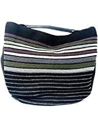 Collective The 120 Crochet Large Hobo - Valley Stripe