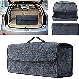 Sedeta Organizador para porta-malas de carro, de feltro, para assento traseiro, suporte de armazenamento interno, bolsa de vi