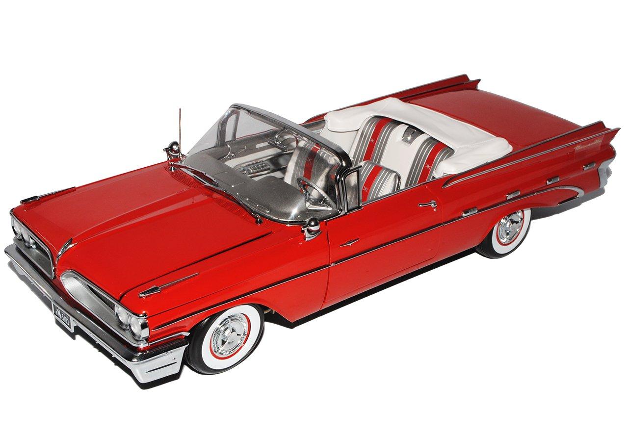 Sun Star Pontiac Bonneville Cabrio Rot 1959 1/18 Modell Auto