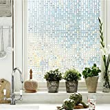 Coavas Decorative Window Film 3D Privacy Window Film...