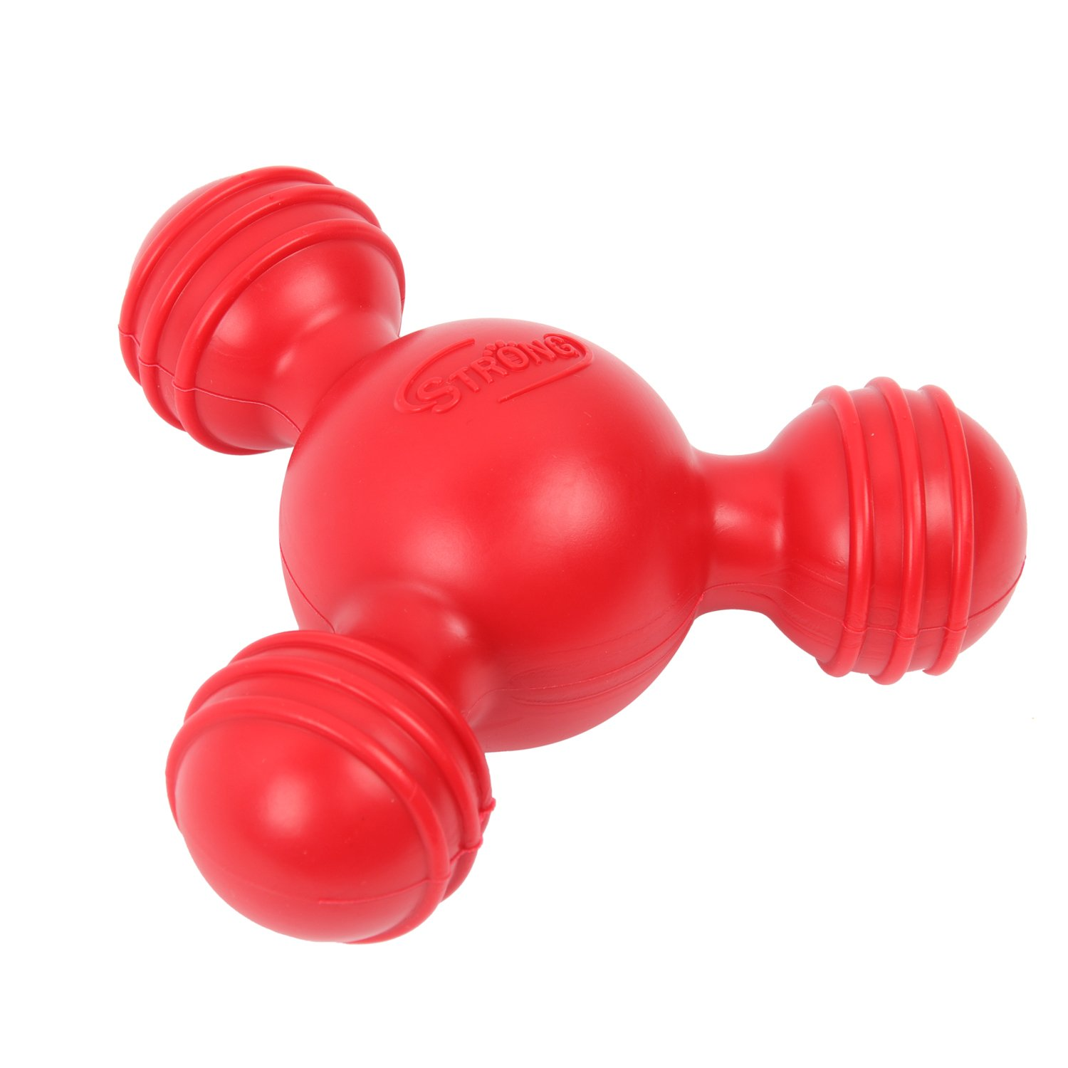 HBuir Durable Rubber Tri-Ball Floating Toy for Dog Training or Fun Plaything