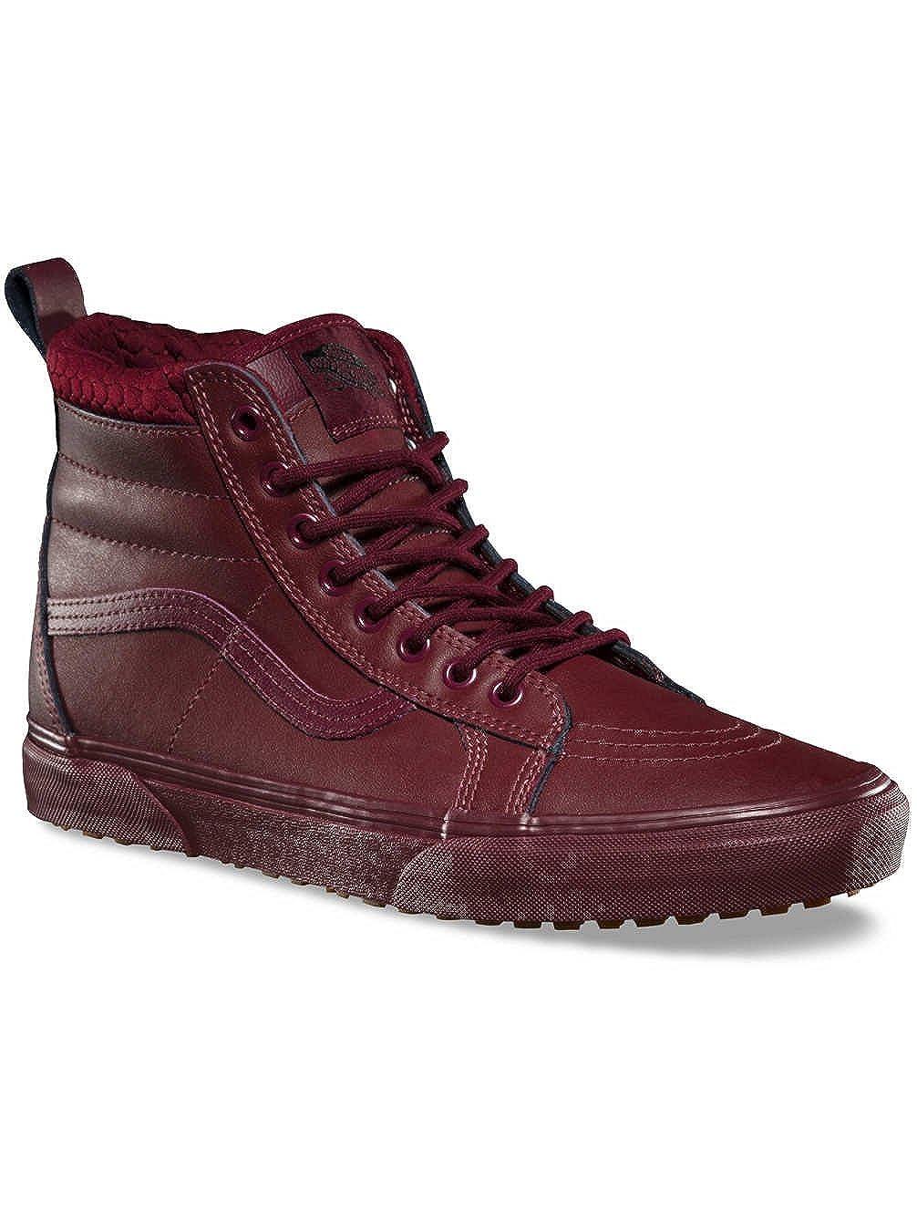 Vans Off The Wall SK8-Hi 46 MTE Sneakers (Port Royale) Leather Outdoor Shoes 9.5 M US Women / 8 M US Men