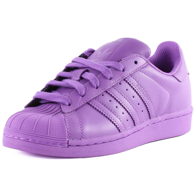 ... adidas Superstar Supercolour Womens Leather Trainers Purple - 4 UK  Amazon.co.uk Shoes