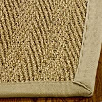 Beige Runner Natural rug by Safavieh Natural Fiber in 3x12