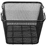Mophorn 12PCS Shopping Baskets with Handles, Black