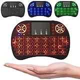Mini Teclado Wireless Keyboard com Touchpad Com Led Usb Android Console e Tv
