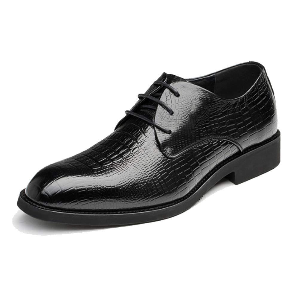 Die Schuhe der Business-Kleid-Männer Schnüren Sich Beiläufige Schuhe Spitze-Oben, Die Hochzeitsschuhe Arbeiten, Schuhe Beiläufige schwarz ed702b