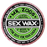 Mr. Zogs Original Sexwax - Cold Water Temperature Strawberry Scented (Light Red Color)