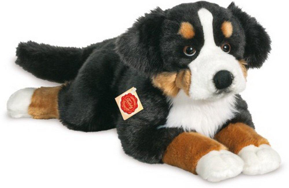 Teddy Hermann 927815 perro de montaña bernés reclinable de peluche, 60 cm