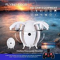 Quartly 2.4G WIFI 0.3MP Camera FPV RC Ball Shaped Quadcopter MINI Pocket Foldable Drone (B)
