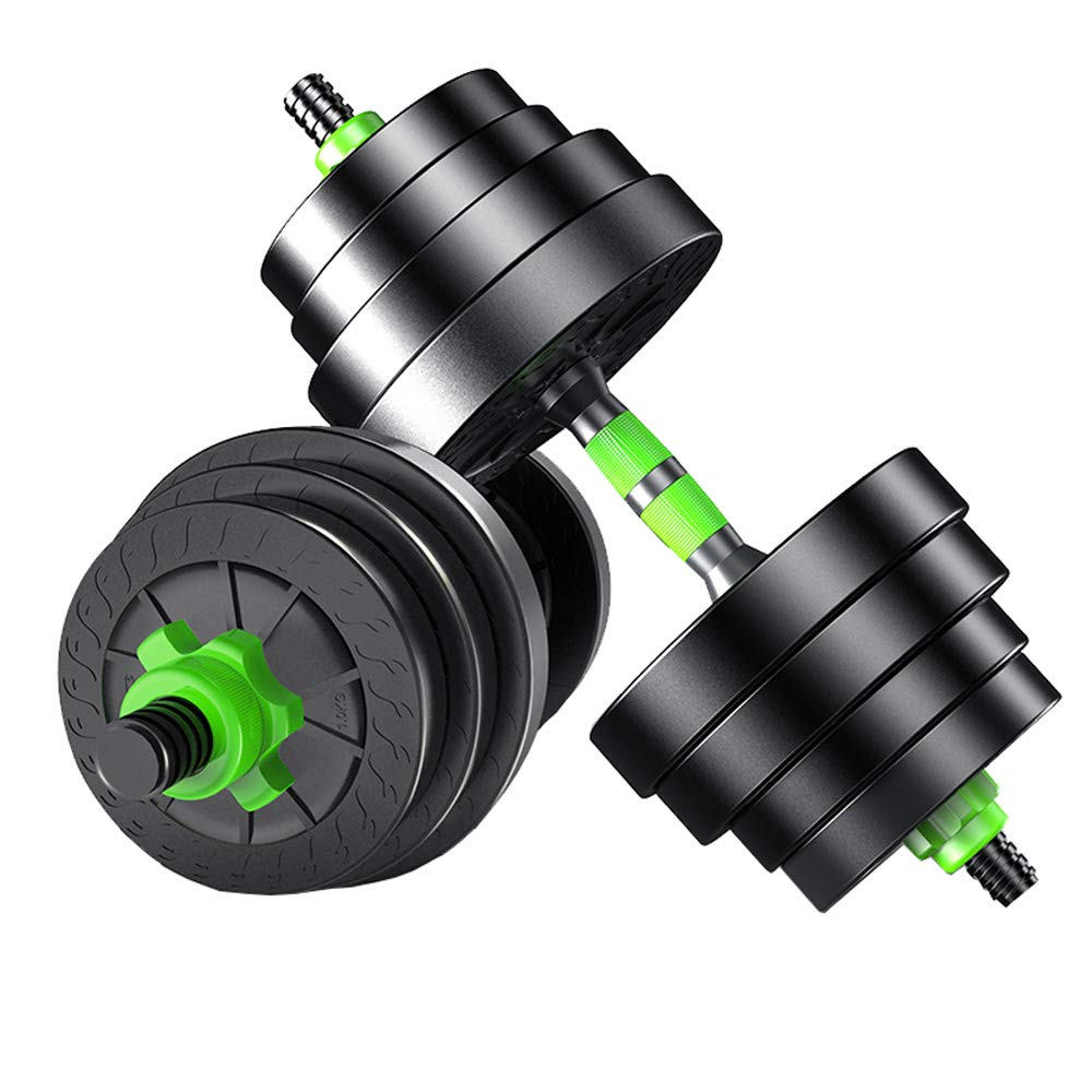Sport YALING Hantel-Abnehmbarer Dumbbell-Beleg-Ausgangsübung-Eignung-Ausrüstung Barbell-Übungs-Arm-Muskel 10KG / 15KG