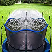 Bobor Trampoline Water Sprinkler for Kids, Outdoor Trampoline Spary Waterpark Fun Summer Water Toys…