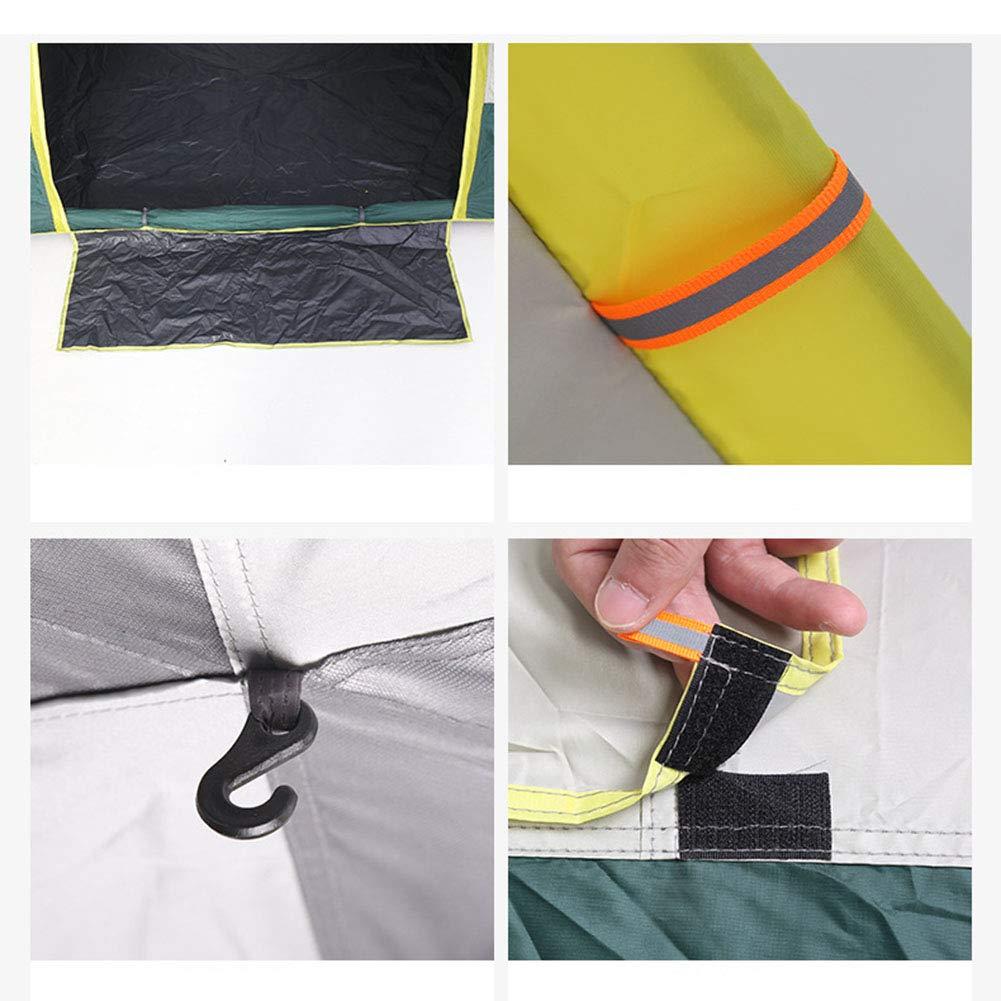 1-1 Party-Campingzelt, Aufblasbares Bett für 3 3 3 Personen  Feuchtigkeitsauflage Picknick im Freien Bergsteigen Reiten Abenteuer Pop Up Zelt B07PMK5GB7 Wurfzelte Billiger als der Preis 5b7260