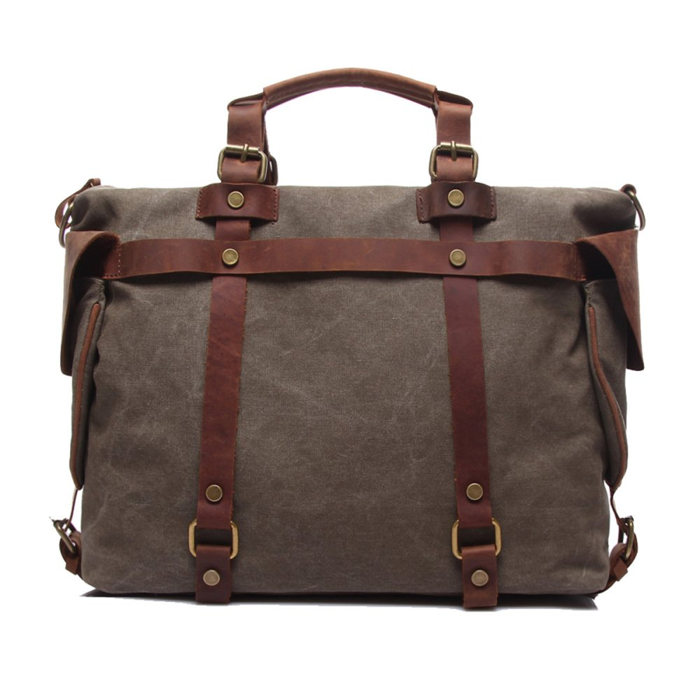 Handtasche Der Neuen Männer, Retro, Tendenz Segeltuchtasche, Eine Schulter Geschlungene Große Kapazität Computertasche