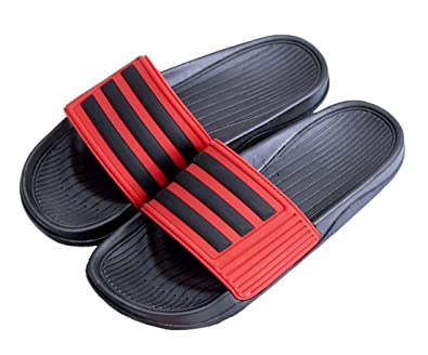 4698d879a31 Seaoeey slippers male summer bathroom slippers fashion indoor sandals red  jpg 395x328 Red bathroom slippers