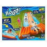 Inflatable Water Slide Triple Pool Kids Park Backyard Play Fun Outdoor Splash by Unknown