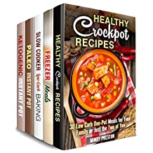 Slow and Pressure Cooking Box Set (5 in 1): Over 170 Low Carb, Easy and Delicious Crockpot and Instant Pot Meals