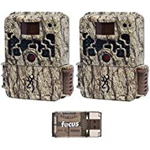 Browning Trail Cameras Strike Force Extreme 16 MP Game Cameras (2x) and Focus USB Reader