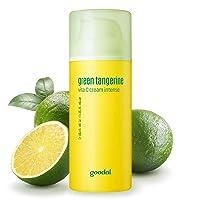 Goodal Green Tangerine Vitamin C Cream for Dry or Combination Skin | Brightening, Dark Spot Treatment, Anti-Aging Skin Repair, Acne Scars, Fine Lines, Hyperpigmentation, and Dark Circles (1.69 fl oz)