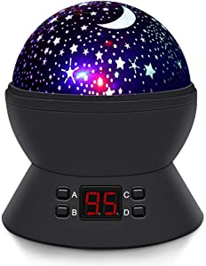 Sweepstakes: [Upgrade] MOKOQI Modern Rotating Moon Sky Projection LED...
