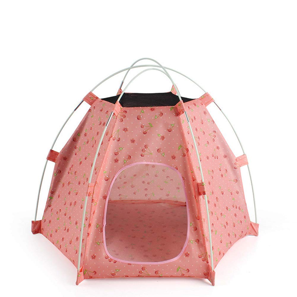 2 (27.5  21.6  20.8 Inches) Outdoor Sunscreen Pet Tent Suitable for Small and Medium Pet Dogs and Pet Cats Foldable Portable Outdoor Travel Camping Pet House,2
