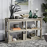 Safavieh American Homes Collection Beauregard Weathered White Bookcase