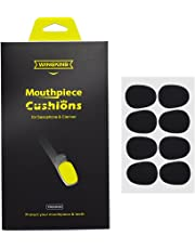 WINGKIND Alto/Tenor Saxophone & Clarinet Mouthpiece Cushions Patches Pads, 0.8mm Black (8 pieces)