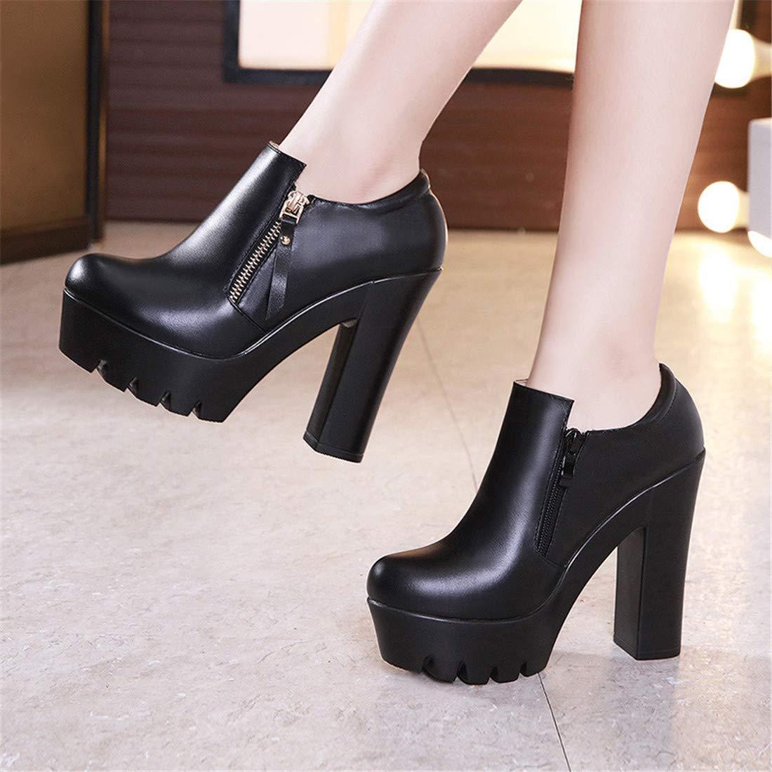 Stiefel Stiefel Stiefel   dickmit einzelnen Schuhen damenstiefel high Heel high Heel   oft dick mit einzelnen Schuhen 560a4f