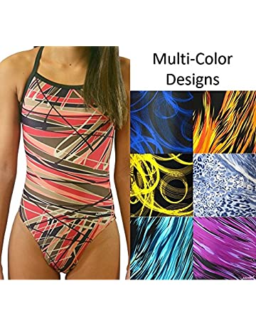 9f80d5d9bf Amazon.com  Girls - Swimwear  Sports   Outdoors  One-Piece Suits ...