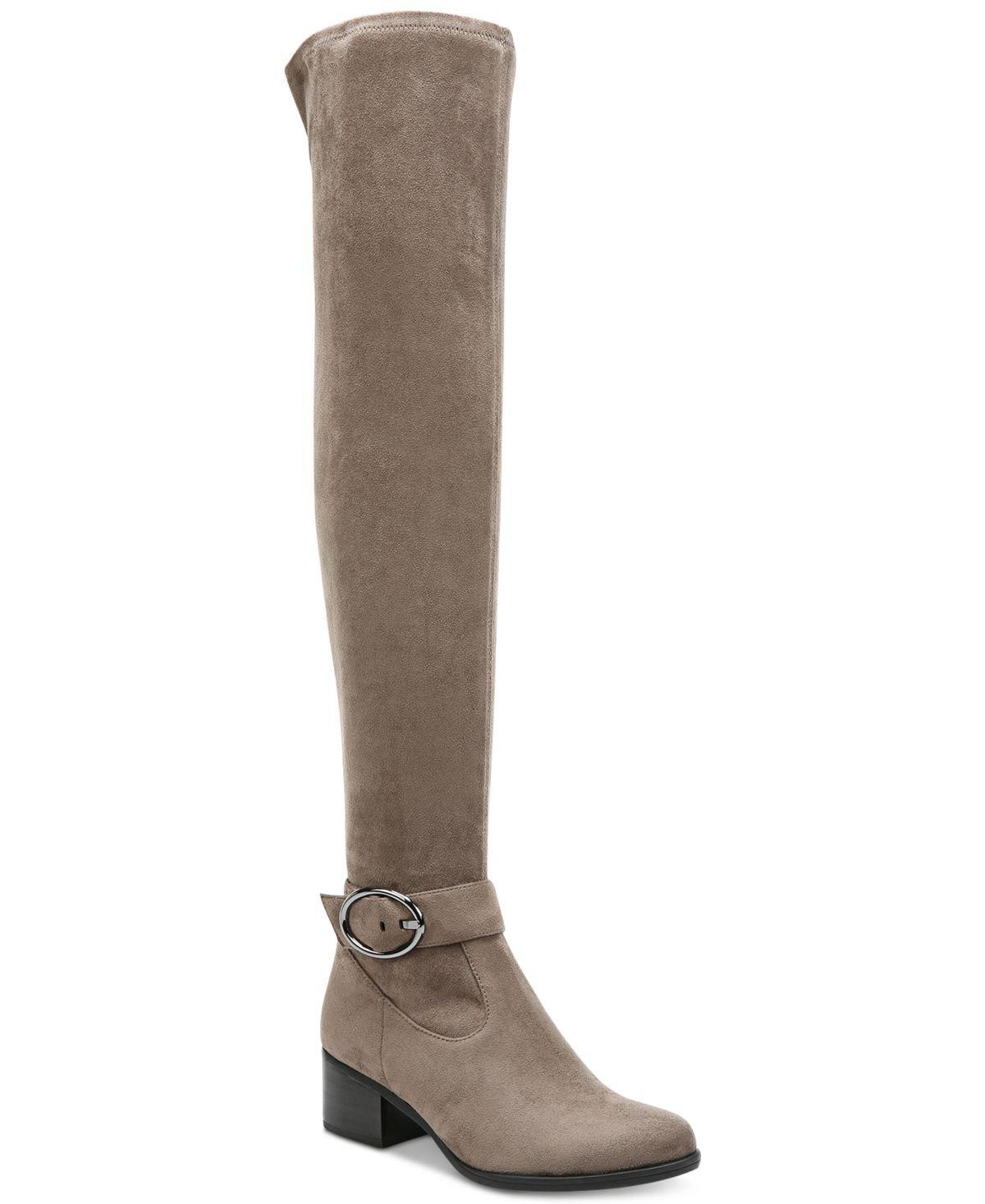 Naturalizer Women's Dayln Slouch Boot B01NANO9YM 8.5 C/D US|Modern Grey Microfiber