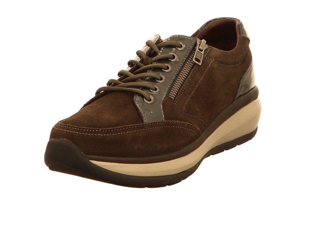 Joya 649cas - Zapatos de Cordones para Mujer 38.5 EU|Gris