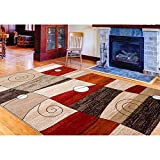 Contemporary Area Rug Home Decor Discount Rugs Living Bed Room Floor Carpets (11 ft. x 8 ft.)