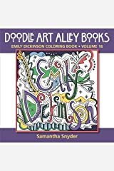 Emily Dickinson Coloring Book (Doodle Art Alley Books) (Volume 16) Paperback