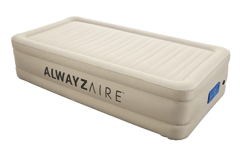 Bestway AlwayzAire Fortech Luftbett, SingleGröße 191 x 97 x 43 cm, mit eingebauter Elektropumpe