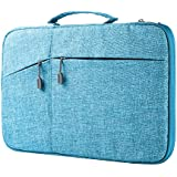"Megoo 13 Inch Sleeve Case for Microsoft Surface Laptop/Book 2 13.5""/iPad pro 12.9""/13.3"" Macbook Air/Macbook Pro,13"" Chromebook Tablet Laptop Slim Water Resistant Carrying Case with Handle (Blue)"