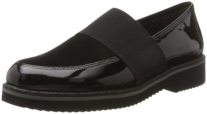 Gabor Shoes Comfort Sport, Derby para Mujer 38 EU|Negro (Schwarzssparkgl)