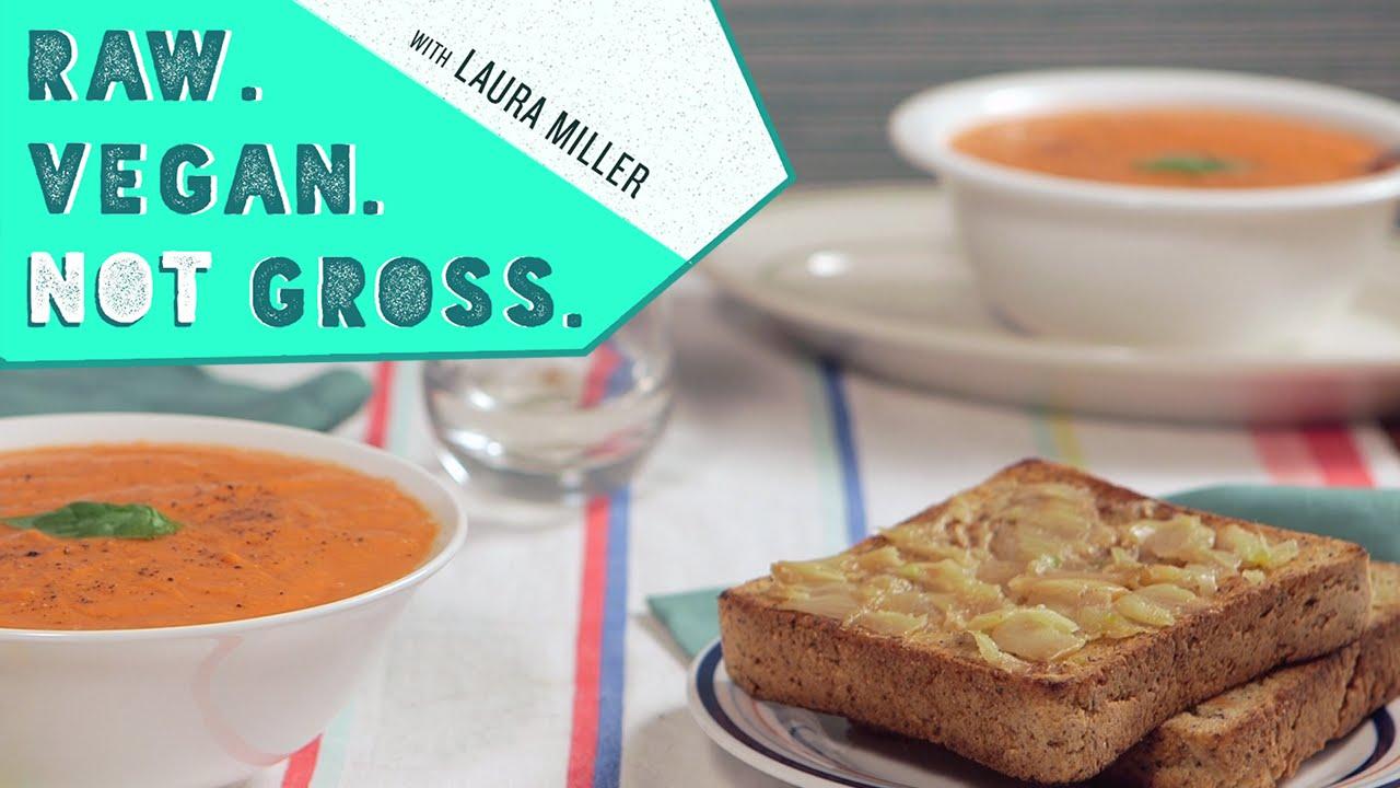 Oven Roasted Tomato Soup   Raw. Vegan. Not Gross