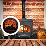 Magnetic Stove Thermometer Wood Burner Top