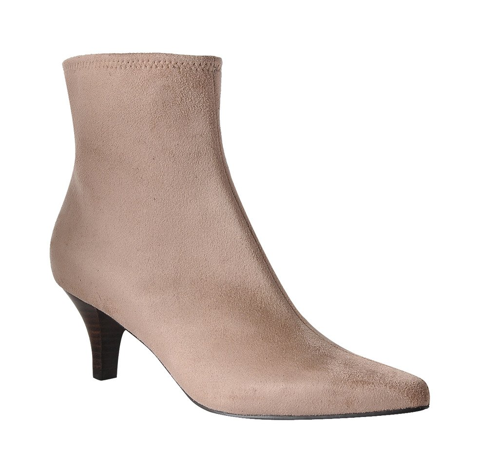 Impo Neil Dress Stretch Bootie B074XDZQ2G 7.5 B(M) US|Stucco Faux Suedy Stretch