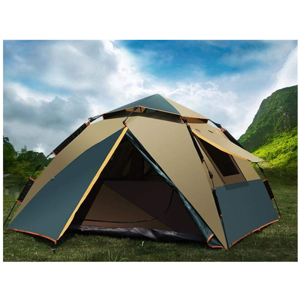 Zelt, 3-4 Personen Fully Automatic Beach Family Waterproof Zelte 4 Jahreszeiten Windproof Camping Portable Outdoor Zelt